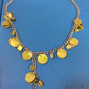 Vintage olive green necklace